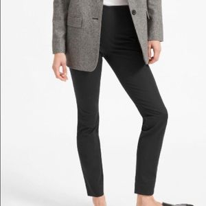 NWOT Everlane black side-zip work pant size 6